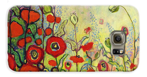 Impressionism Galaxy S6 Case - Memories Of Grandmother's Garden by Jennifer Lommers