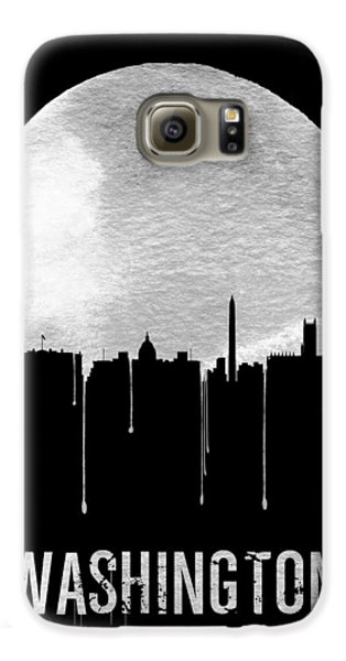 Memphis Skyline Black Galaxy S6 Case