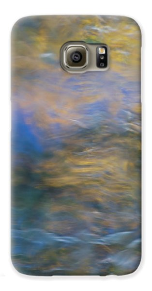 Yosemite National Park Galaxy S6 Case - Merced River Reflections 18 by Larry Marshall