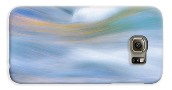 Yosemite National Park Galaxy S6 Case - Merced River Reflections 19 by Larry Marshall