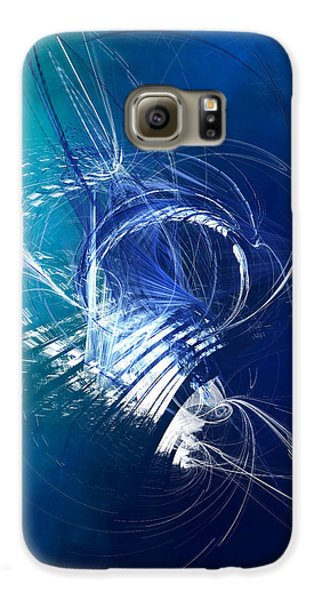 Mercury In Cancer - Cardinal Water Galaxy S6 Case