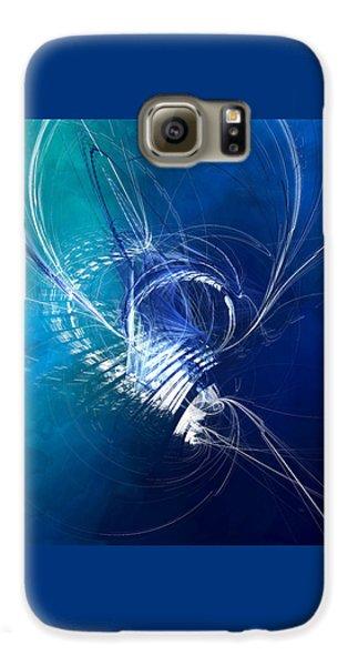 Mercury In Cancer - Cardinal Water Galaxy S6 Case