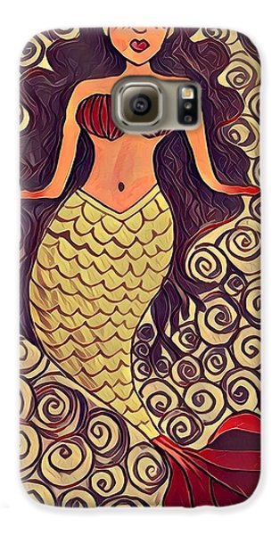 Galaxy S6 Case - Mermaid Dreams by K Daniel