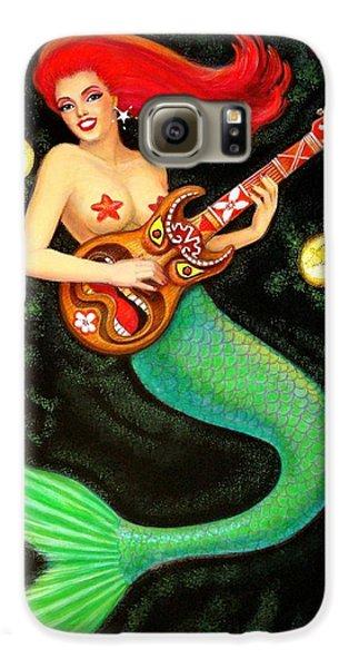 Mermaids Rock Tiki Guitar Galaxy S6 Case