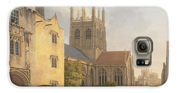 Town Galaxy S6 Case - Merton College - Oxford by Michael Rooker