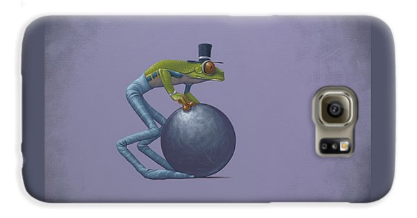Frogs Galaxy S6 Case - Metal Ball by Jasper Oostland