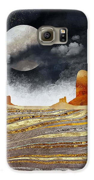 Landscapes Galaxy S6 Case - Metallic Desert by Spacefrog Designs