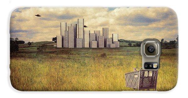 Aliens Galaxy S6 Case - Metropolis by Tom Mc Nemar