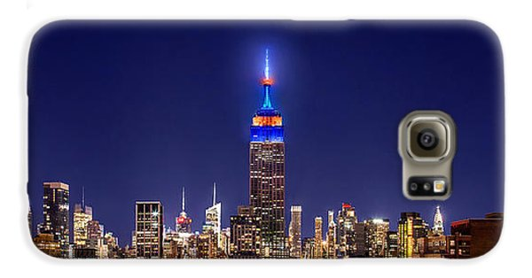 Empire State Building Galaxy S6 Case - Mets Dominance by Az Jackson
