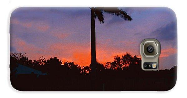 Miami Sunset Galaxy S6 Case