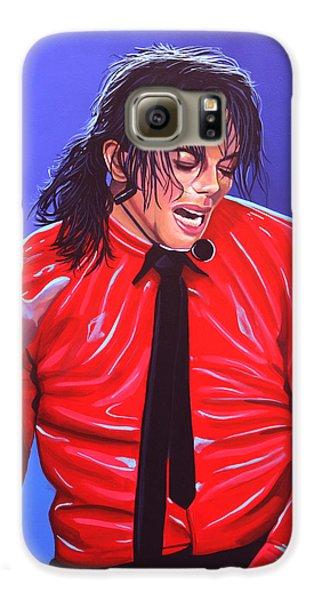Michael Jackson 2 Galaxy S6 Case by Paul Meijering