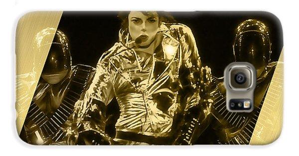 Michael Jackson Gold Galaxy S6 Case