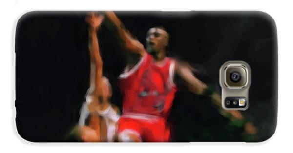 Michael Jordan 548 1 Galaxy S6 Case by Mawra Tahreem