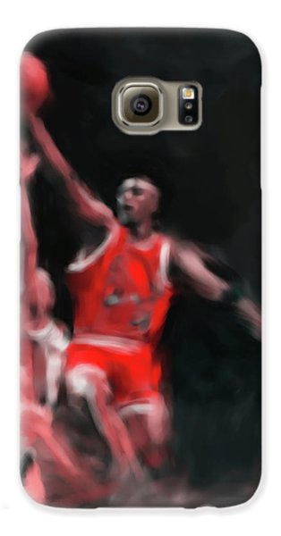 Michael Jordan 548 3 Galaxy S6 Case by Mawra Tahreem