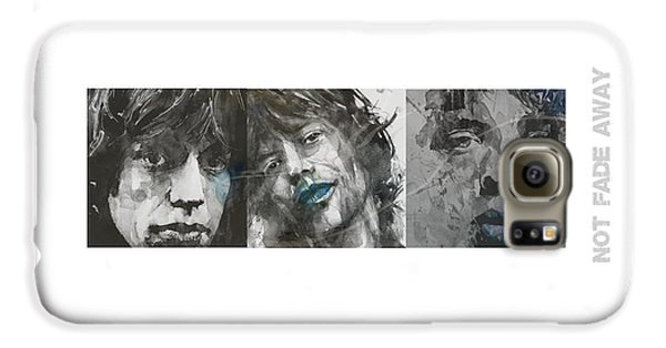 Rolling Stone Magazine Galaxy S6 Case - Mick Jagger Triptych by Paul Lovering