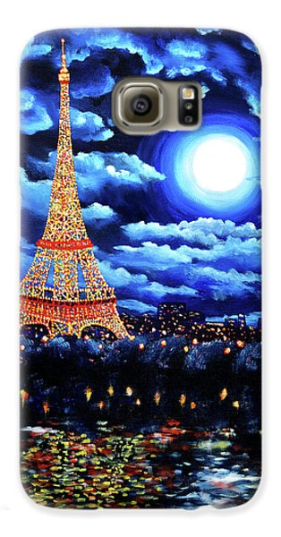 Midnight In Paris Galaxy S6 Case by Laura Iverson