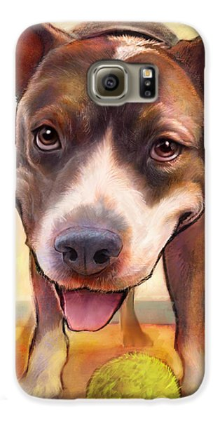 Bull Galaxy S6 Case - Live. Laugh. Love. by Sean ODaniels