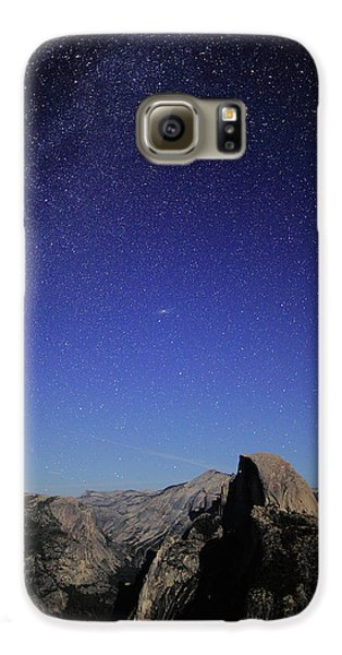 Milky Way Over Half Dome Galaxy S6 Case