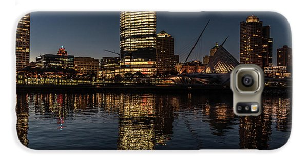 Milwaukee Reflections Galaxy S6 Case by Randy Scherkenbach