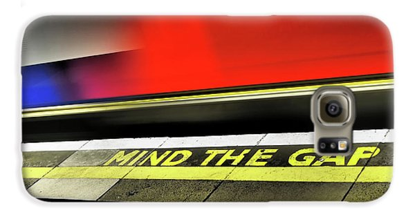 Mind The Gap Galaxy S6 Case by Rona Black