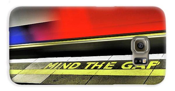 Mind The Gap Galaxy S6 Case by Rona Black