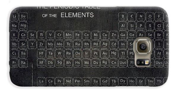 Minimalist Periodic Table Galaxy S6 Case by Daniel Hagerman