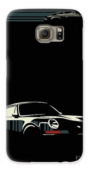 Automobile Galaxy S6 Case - Minimalist Porsche by Sassan Filsoof