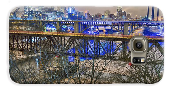 Minneapolis Bridges Galaxy S6 Case