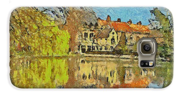 Minnewater Lake In Bruges Belgium Galaxy S6 Case