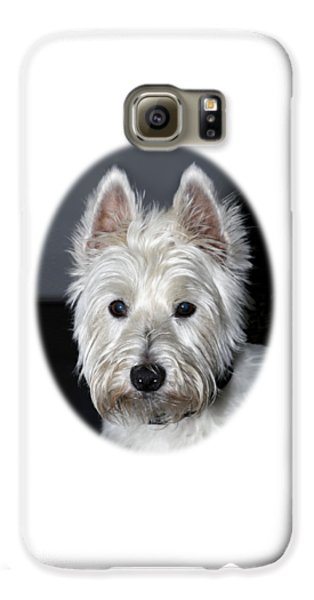 Mischievous Westie Dog Galaxy S6 Case