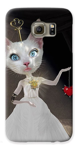 Cuckoo Galaxy S6 Case - Miss Kitty by Juli Scalzi
