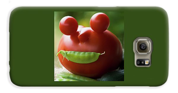 Mister Tomato Galaxy S6 Case by Yulia Kazansky