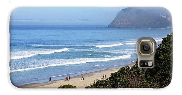 Misty Beach Morning Galaxy S6 Case