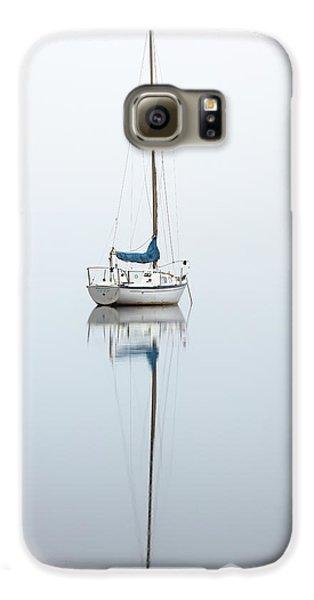 Misty Boat Galaxy S6 Case by Grant Glendinning