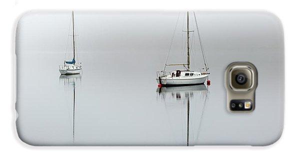 Misty Boats Galaxy S6 Case by Grant Glendinning