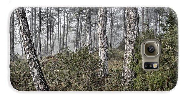 Misty Morning In Baronia De Rialb Catalonia Galaxy S6 Case