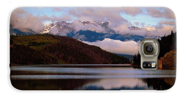 Galaxy S6 Case featuring the photograph Misty Mountain Morning by Karen Shackles