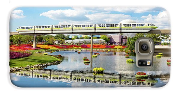 Monorail Cruise Over The Flower Garden. Galaxy S6 Case