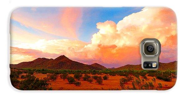 Monsoon Storm Sunset Galaxy S6 Case