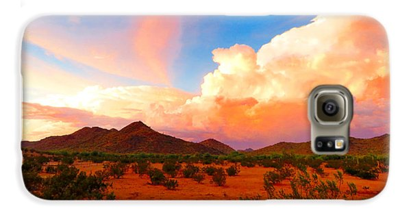 Monsoon Storm Sunset Galaxy S6 Case