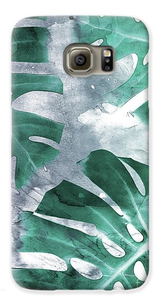 Monstera Theme 1 Galaxy S6 Case