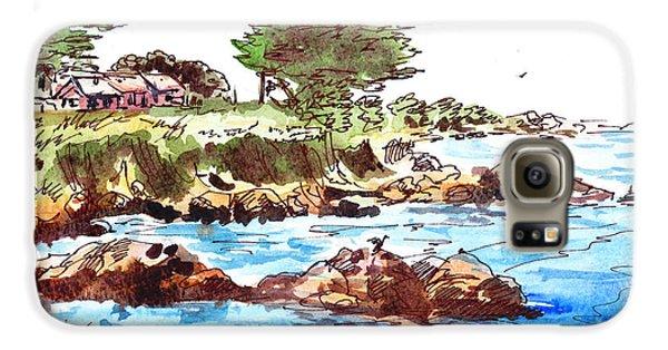 Monterey Shore Galaxy S6 Case by Irina Sztukowski