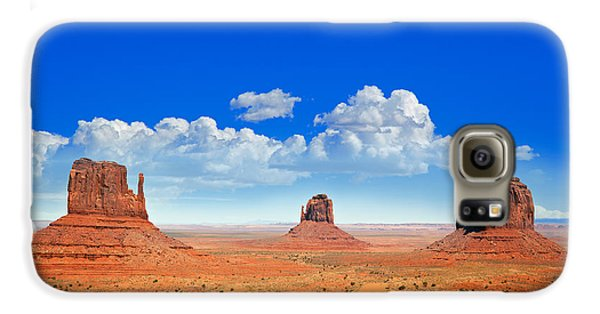 Desert Galaxy S6 Case - Monument Vally Buttes by Jane Rix