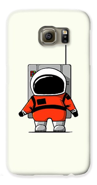 Moon Man Galaxy S6 Case