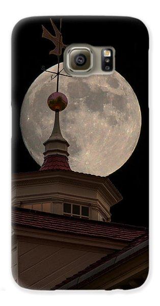 Moon Over Mount Vernon Galaxy S6 Case