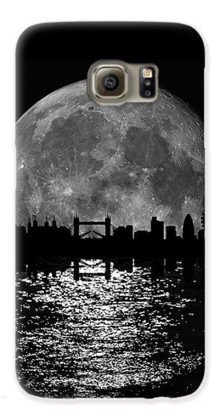 Moonlight London Skyline Galaxy S6 Case by Mark Rogan