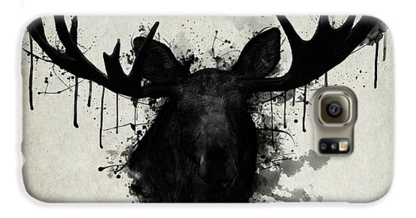 Bull Galaxy S6 Case - Moose by Nicklas Gustafsson
