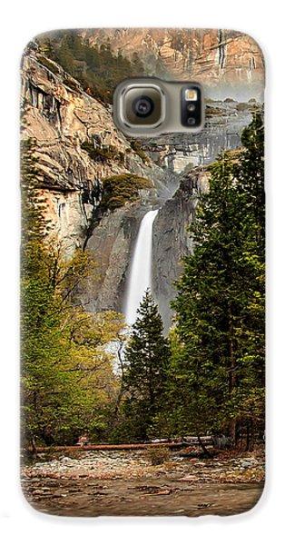 Yosemite National Park Galaxy S6 Case - Morning Delight by Az Jackson