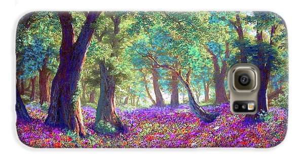 Impressionism Galaxy S6 Case - Morning Dew by Jane Small