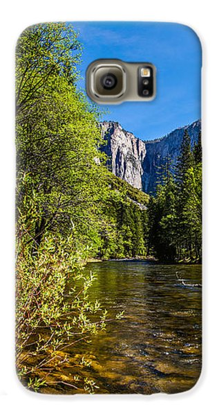 Yosemite National Park Galaxy S6 Case - Morning Inspirations 1 Of 3 by Az Jackson